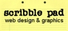 scribblepad web design and graphics